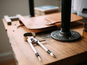 réparer le sac en cuir atelier