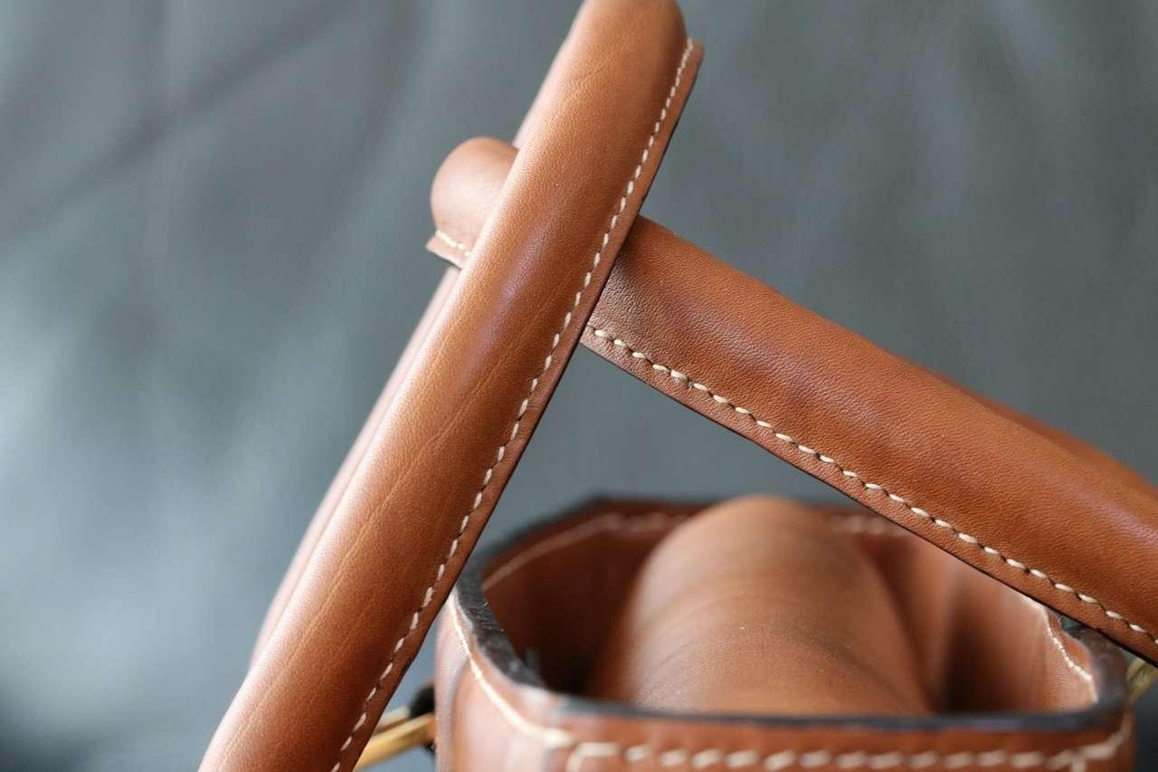les différents cuirs utilisés à l'atelier 2311