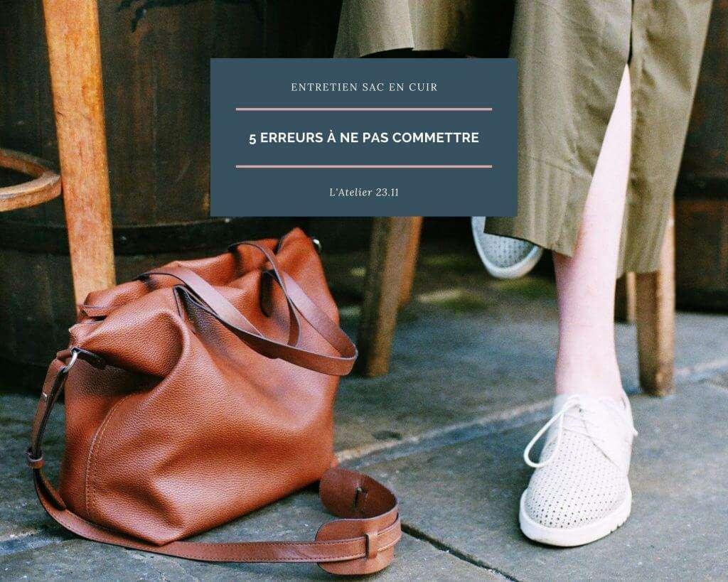 entretien sac en cuir